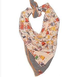 Moschino Village Women Silk Scarf